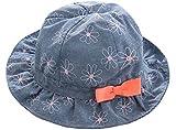 Baby-Fischer-Hut für Mädchen-breiter Rand-Hut für Frühling