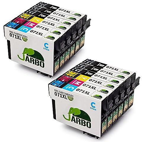 JARBO Remplacer pour T0715 (T0711 T0712 T0713 T0714) Cartouche d'encre