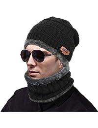 MUCO Sciarpa Cappello Caldo Donna Uomo   Bambino Ragazzo   Ragazza  Inverno Autunno df281396535f