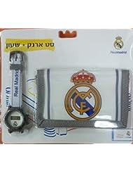 Portefeuille et Montre officiel, certifié authentique du Real Madrid