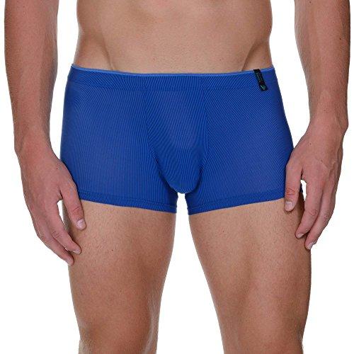 bruno banani Herren Shorts Hipshort Open Eye, Blau (Royalblau Stripes 1452), X-Large Preisvergleich