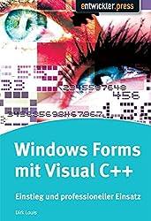 Windows Forms mit Visual C++  Einstieg und professioneller Einsatz