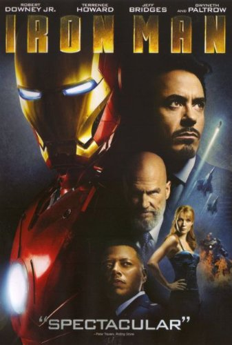 Iron Man LIMITED EDITION 2 Pack DVD Set Includes Iron Man Widescreen DVD PLUS Bonus DVD Featuring First Look Full Episode of The Iron Man Armored Adventures, Soundtrack Sampler & Digital Comic Book