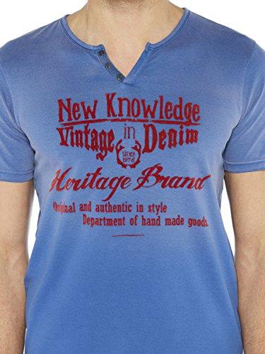 Colorado Denim Herren T-Shirts Jaden Blau (indigo Blue 6079)