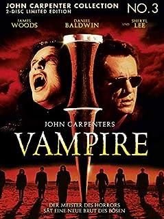 John Carpenter's Vampire Uncut Blu Ray Mediabook (2 Disc Limited Edition)