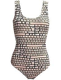 Ctrl-Alt-Delete! QWERTY Keyboard Swimsuit Bodysuit