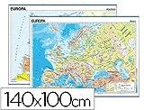 Mapa mural Europa fisico y politico ref. 1682401
