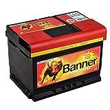Autobatterie 60AH 12V Banner Power Bull P6009...