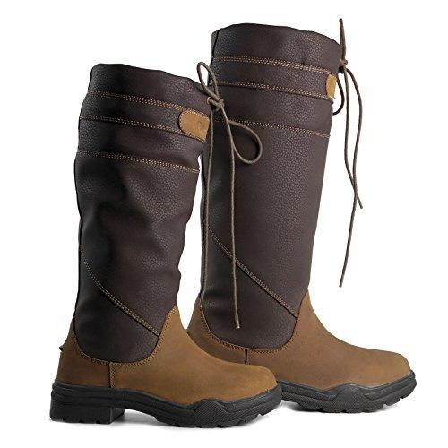 Ariat ' Womens Short (Damenstiefel Brogini Derbyshire County, Reitstiefel, Wanderstiefel, damen, Derbyshire, braun)