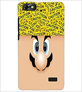 PrintDhaba Cartoon D-4238 Back Case Cover for HUAWEI HONOR 4C (Multi-Coloured)