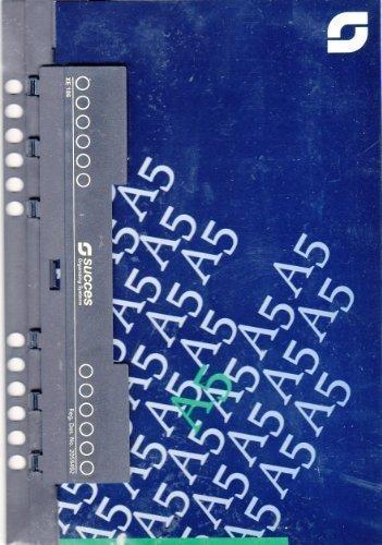 Time/system Succes OFFICE und A5 Kunststoff Locher zum Einheften mit Lineal - XE186