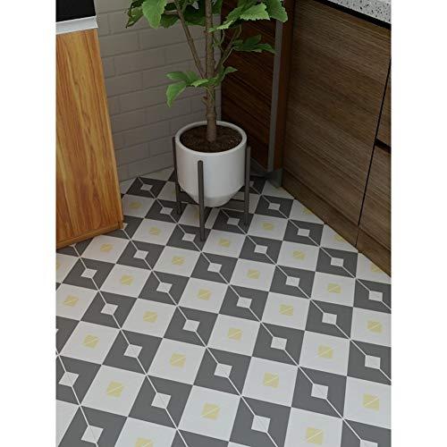 KUNHAN Fliesenaufkleber Einfache Asiatische Schlichte Balkon Badezimmer Küche Wasserdichte Rutschfeste Fußbodenfilm Renovierung Bodenfliesen - Asiatische Badezimmer