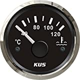 Kus Température de l'eau jauge de température M 40–120°C avec rétroéclairage 52MM 12V/24V