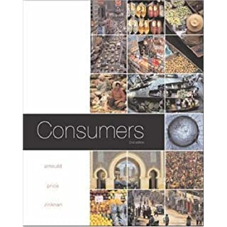Consumers by Eric J Arnould (2003-03-21)