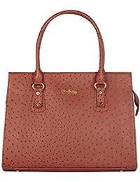 The Clownfish Victoria Faux Leather Handbag For Women,Shoulder Handbag, Handbag Leather Ladies Girl's Handbag,...