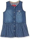 s.Oliver Baby-Mädchen Kleid Kurz, Blau (Blue Denim Non Stretch 56y2), 68