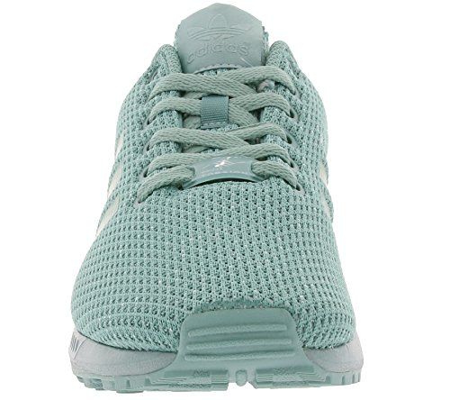 adidas Herren Zx Flux Sneaker Türkis (Vapour Steel/Vapour Steel/Vapour Steel)