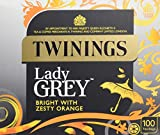 Twinings Lady Grey 100's (Pack of 4, total 400 Tea Bags)