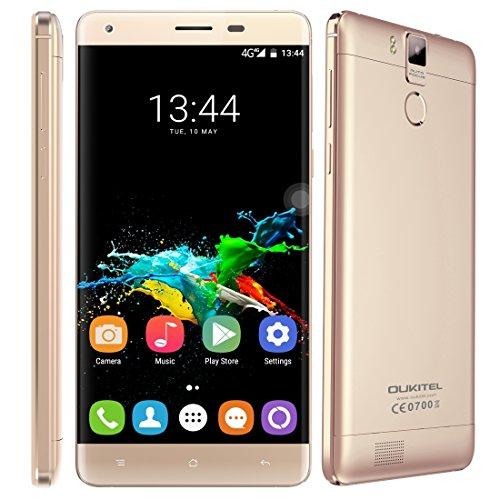 OUKITEL K6000 Pro 4G LTE 5.5 pulgadas Smartphone Android 6.0 MTK6753 Octa...