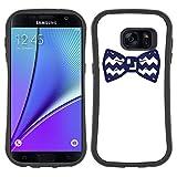 Graphic4You Noeud Papillon Chemise Homme Mode Fashion Design Coque Cache Souple Étui Housse de Protection Antichoc Anti-Dérapant pour Samsung Galaxy S7