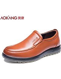 Aemember scarpe da uomo Business Casual Scarpe, Scarpe da uomo messo piede gran numero ,40, nero