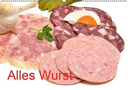 Alles Wurst (Wandkalender 2019 DIN A2 quer): Wurstwaren (Monatskalender, 14 Seiten ) (CALVENDO...