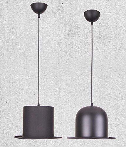 GTB Der neue Nordic kreative Gentleman Hut Kronleuchter , black (Im Gelben Hut Mann Der)