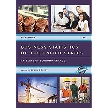 BUSINESS STATISTICS OF THE US (U.S. Databook)
