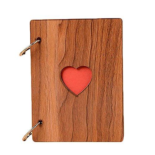 souvenir aus Holz DIY Retro 6Zoll für Erwachsene Kinder Baby Geschenk-Valentinstag Geschenktäschchen S Day ()