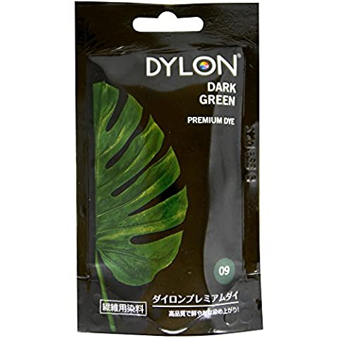 Colore per tessuti DYLON, polvere, colore: verde scuro