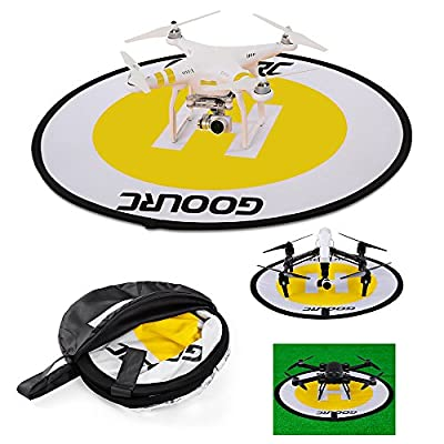 "30"" / 78 cm Drone Launch / Landing Pad-GoolRC Foldable Launch Pad Waterproof Nylon Landing Pad for DJI Mavic Pro Phantom 3 4 Inspire 1 Align 450 550 700 Helicopter"