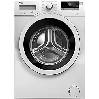 Beko WKY51031PTMB3 freestanding Front-load 5kg 1000RPM A+ White washing machine - Washing Machines (Freestanding, Front-load, White, Rotary, LED, Stainless steel)