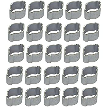 Hand Tools Sporting Colliers Oreille Double 7mm-9mm 25pcs Tools & Workshop Equipment