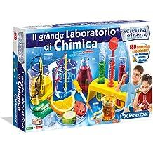 Clementoni 13912 - Giochi Educativi e Scientifici, Il Grande Laboratorio di Chimica