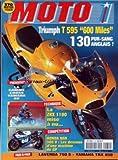 MOTO 1 [No 172] du 20/07/1997 - TRIUMPH T 595 600 MILES - LA GAMME CROSS YAMAHA 98 - YAMAHA - LA ZRX 1100 - HONDA NSR 500 V - LAVERDA 750 S - YAMAHA TRX 850.