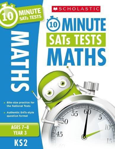 Maths - Year 3 (10 Minute SATs Tests) por Paul Hollin