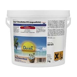 3 Kg - Duraol® Chlortabletten 90% langsamlöslich Premium