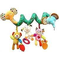 Cot Toys Kid Activity Spiral Wrap Kinderwagen Hängende Spielzeug Sitz Spielzeug für Baby (Elephant) preisvergleich bei kleinkindspielzeugpreise.eu