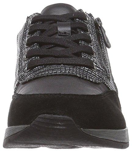 Jana23701 - Sneaker donna Nero (Schwarz (schwarz (BLACK COMB 098 )))
