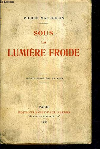 SOUS LA LUMIERE FROIDE PORT D'EAUX MORTES DOCKS LES FEUX DU BATAVIA / 33E EDITION.