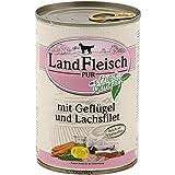 LandFleisch | Pur Geflügel & Lachsfilet | 12 x 400 g