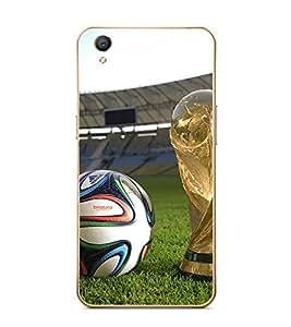 Fuson Designer Back Case Cover for Oppo F1s (Football Game Sport stadium Playground)