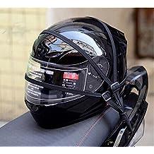 60cm Universal Correa de Casco , Correa de Equipaje de Moto Cuerdas Elásticos