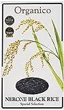 Organico Nerone Black Wholegrain Speciality Organic Rice 500 g (Pack of 3)