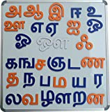 #6: Cryo Craft Wooden Magnetic tamil Alphabets/Letters
