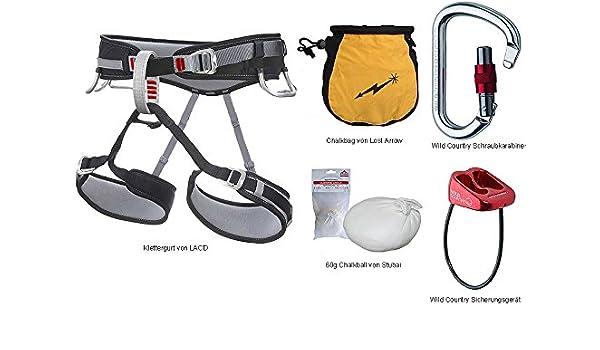 Lacd Klettergurt Harness Start : Kletter set lacd two gurt größe l karabiner sicherungsgerät
