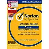 Norton Security Deluxe | 5 Geräte | PC/Mac/Smartphone/Tablet | Download