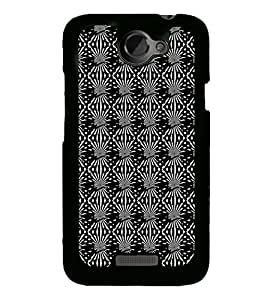 ifasho Designer Phone Back Case Cover HTC One X :: HTC One X+ :: HTC One X Plus :: HTC One XT ( Purple Pink Pattern Design )