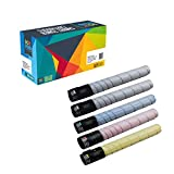 Do it Wiser ® 5 Kompatibel Toner Konica Minolta BizHub C224 C224e C284 C284e C364 C364e   TN321K A33K150 TN321C A33K450