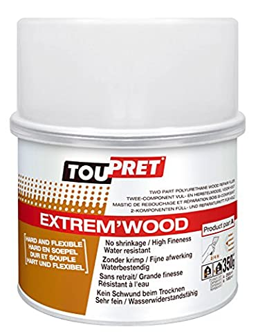 350grm Toupret Extrem' Wood Two Pack Polyurethane Wood Repair Filler